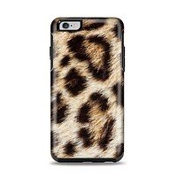 The Leopard Furry Animal Hide Apple iPhone 6 Plus Otterbox Symmetry Case Skin Set