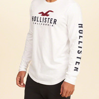 Guys Crewneck Graphic Tee | Guys 40% Off Winter Favorites | HollisterCo.com