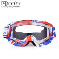BJMOTO Amazing Motocross Goggles Anti-Fog UV400 Off Road Helmets Skiing Ski Glasses Mask Eyewear Protection