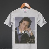 White T-Shirt | Funny Full House 90s Shirts