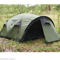 Snugpak Cave Waterproof 4 Person Camping Tent 92894 - Olive Green