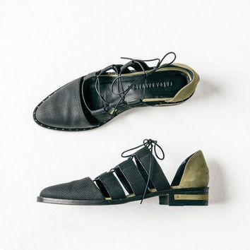 LACE GHILLIE D'ORSAY OXFORD