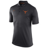 Texas Longhorns Nike 2014 Football Sideline Elite Coaches Dri-FIT Performance Polo – Black