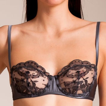I.D. Sarrieri: La Nymphe Demi-Cup Bra | Nancy Meyer
