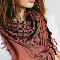 Free People Lost Canyon Fringe Scarf