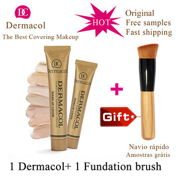 Dermacol Base Make up Cover 30g Primer Concealer Base Professional Face Dermacol Makeup Foundation Contour Palette original