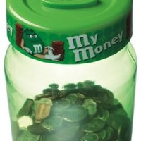 M&M's Digital Coin Counting Money Jar, Green