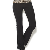 Leopard Waist Yoga Pant | Wet Seal