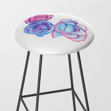 Roses Bar Stool by drawingsbylam
