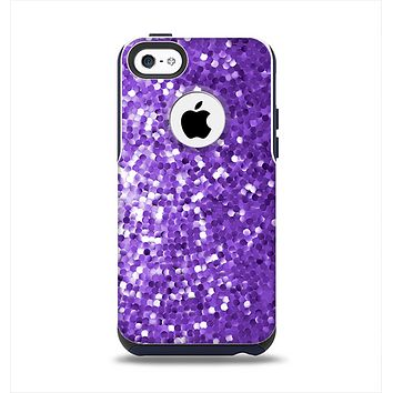 The Purple Shaded Sequence Apple iPhone 5c Otterbox Commuter Case Skin Set