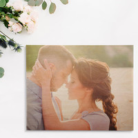 Custom Printed Unique Wedding Gift Photo on Wood 5 Year Anniversary Gift New Mom Gift Dad Gift Personalized Photo Gift Wood Print
