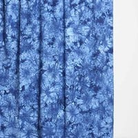 Magical Thinking Acid Wash Shower Curtain- Blue One