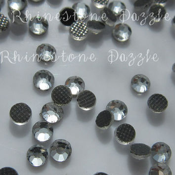 ss10 Hotfix Clear Crystal Flat Back Rhinestones, 3mm Hotfix Clear Crystal Flat Back Rhinestones