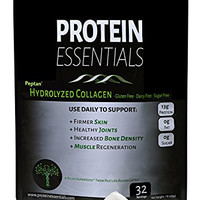 Hydrolyzed Collagen Protein Powder 16oz, Paleo, Non GMO, Gluten & Dairy Free Peptan Collagen Hydrolysate Peptides, Pasture Raised for Healthy Skin Joints & More