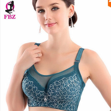 New Women's Underwire Lace Bra Push Up Brassiere 36 38 40 42 44 Cup Size C D #5 = 1932245764