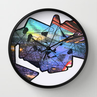 Pagoda  Wall Clock by Peyton Rack