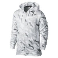The Nike KO Energy Full-Zip Men's Training Hoodie.