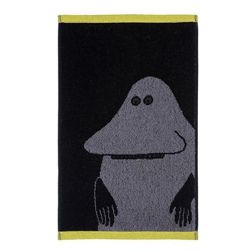 Groke hand towel black 30 x 50 cm by Finlayson