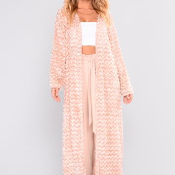Let Your Love Shine Kimono - Blush