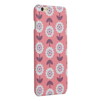 charming adorable floral glossy iPhone 6 plus case