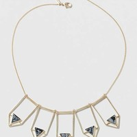 Semi Precious Arrow Collar Necklace - New In This Week - New In