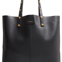 Versace Soft Leather Tote | Nordstrom