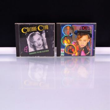 2 Culture Club CDs Kissing To Be Clever Colour By Numbers Boy George Virgin Rec