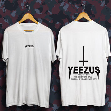 Yeezus tour tshirt life of pablo kanye west shirt, yeezus tour, kanye 2020, kanye west tshirt, kanye west t-shirt, yeezy tshirt tlop t-shirt