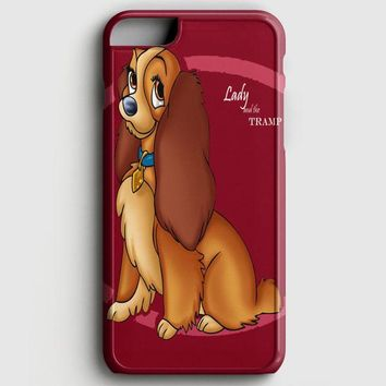 Lady And The Tramp Disney Dog Cartoon iPhone 8 Case