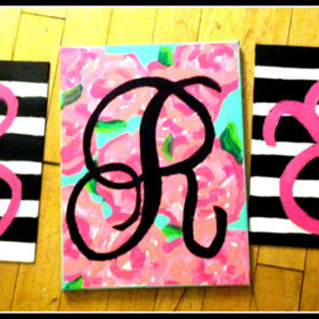 Lilly Monogram Canvas
