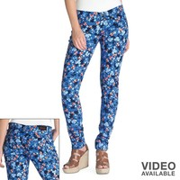 Levi's 524 Floral Skinny Jeans - Juniors