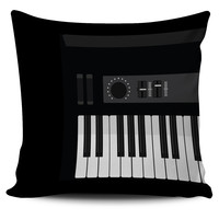 Piano Pillow Cover