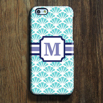 Flower Sector Monogram iPhone 6 Case iPhone 6 plus Case Custom iPhone 5 Case iPhone 5C Case iPhone 4S Case Floral Galaxy S6 Edge S5 Case 119