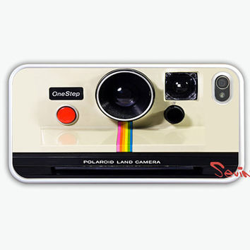 iPhone 4 Case, iPhone 4s Case, iPhone Case -  Vintage Polaroid Camera iPhone Hard Case