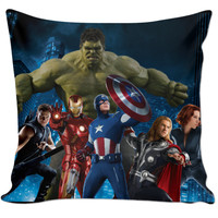 Avenger squad pillow