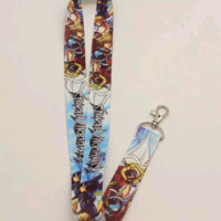 Brand New Square Enix Kingdom Hearts Blue Lanyard