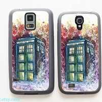 Doctor who tardis,Samsung Galaxy S5 Case, Samsung Galaxy S4 Case,Samsung Galaxy Case,Cover Skin,Samsung Galaxy s3 case