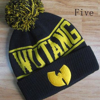 LMOFN1 Perfect Wu-Tang Clan Hiphop Women Men Beanies Winter Knit Hat Cap