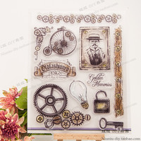 NCraft Clear Stamps N5166 Scrapbook Paper Craft Clear stamp scrapbooking