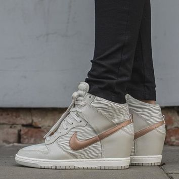 Nike Dunk Sky Hi Essential Inside Heighten woman Leisure High Help Board Shoes6