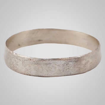 French Country Wedding Band, Viking Age Ring, C.866-1067A.D. Size 10 1/2  (20.1mm)(BRR694)