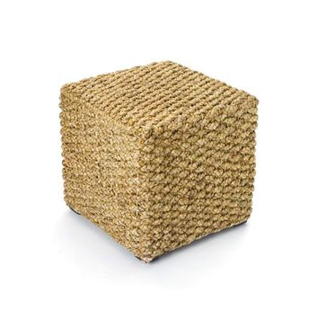 Woven Square Stool