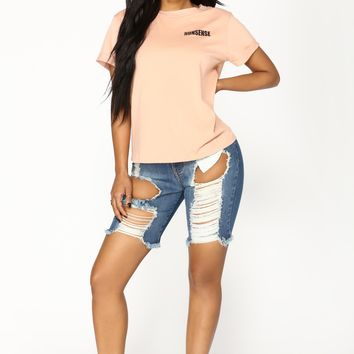 Khloe II Shorts - Medium Wash