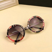 Round Sunglasses A8712