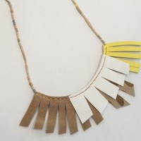Muted Fringe Necklace | BRIKA - A Well-Crafted Life