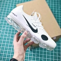 Off White X Nike Air Mercurial Vapormax Hybrid White Sport Shoes - Best Online Sale