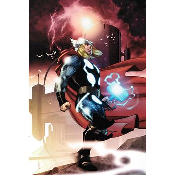 Thor #615 - Limited Edition Giclee on Stretched Canvas by Joe Quesada and Marvel Comics