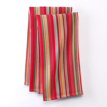 Bobby Flay Sorrento Ticking Stripe 2-pk. Kitchen Towels