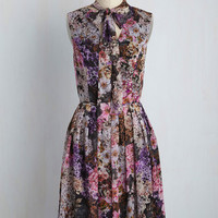 Fusion Food Foray A-Line Dress | Mod Retro Vintage Dresses | ModCloth.com