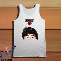 Calum Hood Second Of Summer Funny Tank Top, Girls Tank Top, Ladies Tank Top, Mens Tank Top, Womens Tank Top, Black Tank Top, White Tank